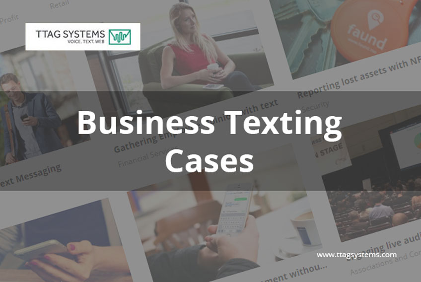 business texting cases