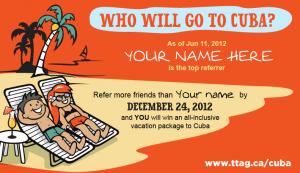 Cuba promotion 2014