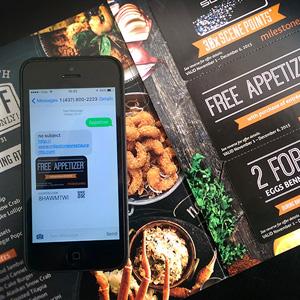 SMS Coupon vs Mobile Coupon