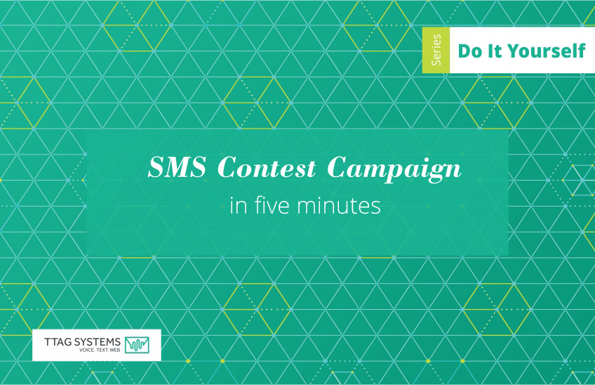 SMS contest campaign cover image